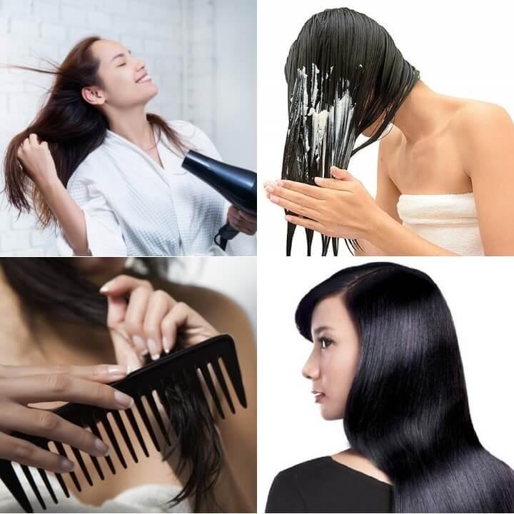 làm thế nào để có mái tóc chắc khỏe và bóng mượt